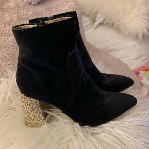 Betsey Johnson Glam Boots 8